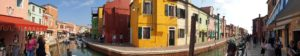 ヴェネチア、ブラーノ島にて
